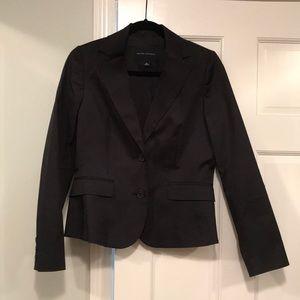 NWOT banana republic suit jacket size 4 black